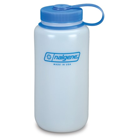 Camp and Hike The Nalgene Ultralite Wide-Mouth water bottle is ideal for carrying water while walking or hiking. - $6.75