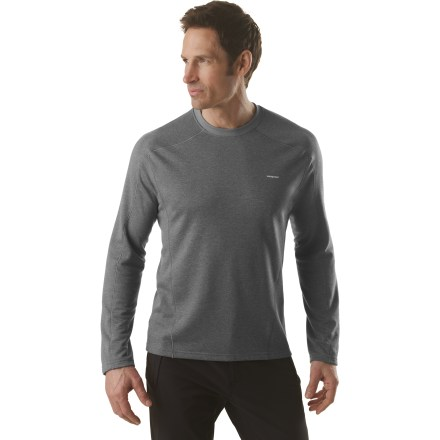 Ski A first layer for aerobic activities in a wide range of temperatures, the Patagonia Capilene(R) 3 Crew top is highly breathable and dries quickly. - $22.83