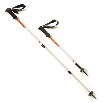 Camp and Hike The REI Traverse trekking poles offer stability and steady traction on the trail as well as ice and rock surfaces. - $38.93