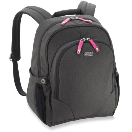 Entertainment If you prefer to keep your hands free and shoulders comfortable, the REI Ashbury urban-style daypack offers a comfortable, balanced carry on your back. - $33.93