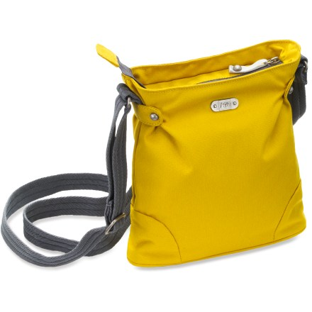 Entertainment The REI Latona shoulder bag has smart styling with a slim silhouette and modest size for traveling about. It keeps your load light and hands free. - $13.93