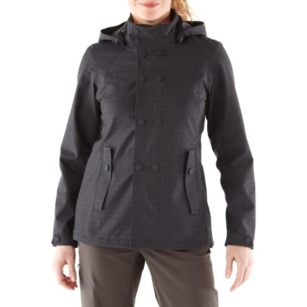This street-smart jacket is perfect for travels where you need wet-weather protection. The REI Madrona jacket is fully seam sealed and blocks wind to 60 mph. - $68.83
