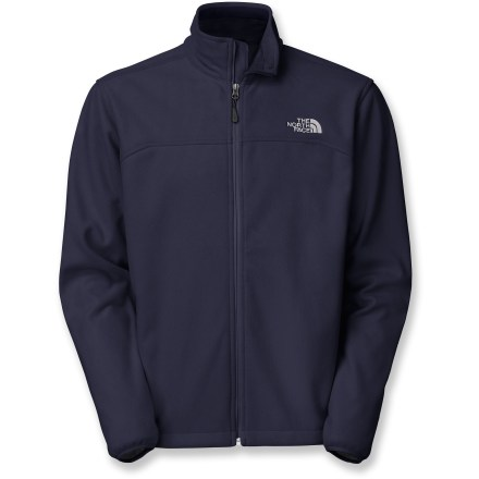 Camp and Hike The North Face WindWall 1 men's jacket delivers windchill-inhibiting comfort during cold-weather activities. It is slightly less wind resistant than WindWall 2 and a touch lighter weight. WindWall 1 is made from 100-weight fleece and delivers wind-resistant warmth in moderate cold and provides excellent insulation when layered. WindWall 1 fabric blocks about 80% of the wind yet still allows enough airflow to ensure a dry, comfortable fit. WindWall 1 features a mesh backer fabric and a unique fabric-bonding process that allow limited external air permeability. The North Face WindWall 1 features 2 zippered hand pockets, a drawcord hem and elastic cuffs. Standard fit ensures freedom of motion. - $83.93