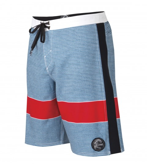 "Surf O'Neill Superfreak Retro Boardshorts.  Psychostretch.  20"" outseam boardshort features techno butter neoprene panels; superfly closure; locking drawcord; contrast waistband; back pocket; circle-surfer patch; embroidered and screened logos.Psychostretch is used on most of our Superfreak styles.  The satin weave on the inside is made for ultra comfort; while the material has a decent amount of stretch with a little heavier weight.  Made with a 140% vertical stretch and 130% horizontal stretch and has a durable water resistant coating for a faster dry time.  Techno butter is neoprene used in the panels of our Superfreak boardies.  A new type of neoprene developed for wetsuits that is lightweight; fast-drying; and stretchy. - $35.99"