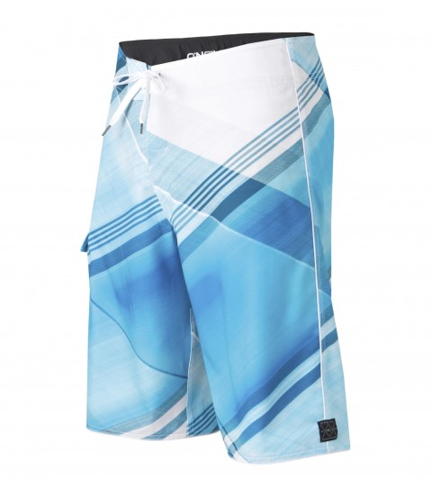 "Surf O'Neill Source Boardshorts.  Epicstretch.  22"" outseam boardshort features superfly closure; sideseam piping; side pocket; woven patch and screened logos. - $32.99"