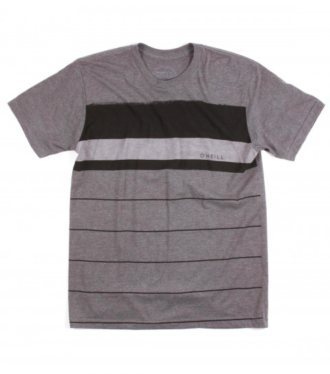 Surf O'Neill Trails Shirt.  50% Cotton / 50% Poly.  30 singles modern fit heather pocket tee with attached label and softhand screeenprint. - $17.99