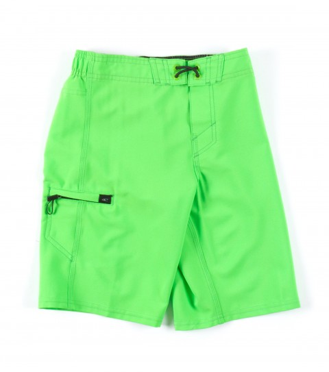 Surf O'Neill Kids Santa Cruz Stretch Boardshorts.  Epicstretch; boardshort features superfly closure; single welt side pocket; embroidery and screened logos. - $36.00