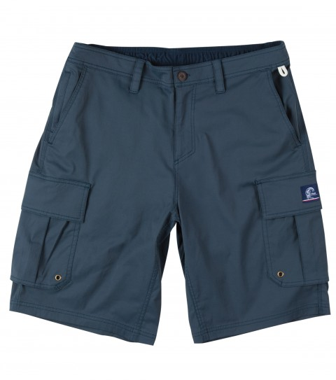 "Camp and Hike Jack O'Neill Campy Hybrid Shorts.  51% Cotton / 44% Poly / 4% Spandex Hybrid short. Side cargo pockets and 2 zip enclosed pockets allow for plenty of storage for a day on the lake or a hike. Quick dry fabric with mesh pockets make this short water friendly. Tricot lined interior waistband and elastic back provide superior comfort and fit. 21"" outseam. - $48.99"
