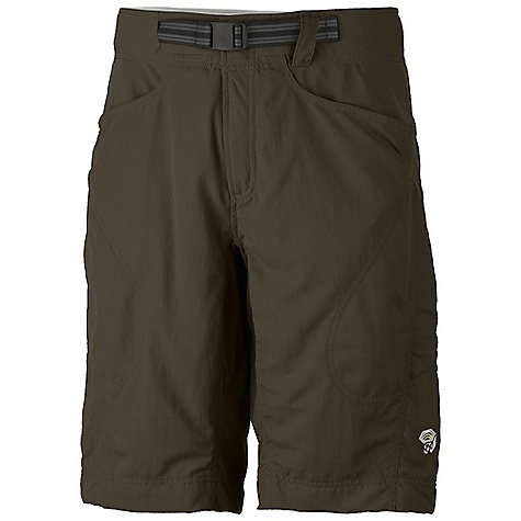 Entertainment Free Shipping. Mountain Hardwear Men's Matterhorn Short DECENT FEATURES of the Mountain Hardwear Men's Matterhorn Short Updated inseam length, integrated belt, and fit in the high hip Micro-Chamois-lined seamless conical waist for comfort under a pack Integrated webbing belt with buckle closure for easy fit adjustments Lots of pockets for storage Full length inseam gusset for mobility DWR finish sheds moisture UPF 50 sun protection Imported The SPECS Apparel Fit: Relaxed Average Weight: 12.1 oz / 342 g Inseam Length: 12in. / 30 cm Body: Hardwear Canvas Cloth (100% nylon) Lining: Micro-Chamois (100% brushed polyester) - $67.95