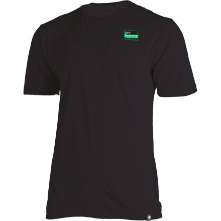 Arbor named the Stash Pocket T-Shirt after that little patch of peach-fuzz that's been struggling to gain ground on your upper lip for the past 4 years. Stick with it and you should have a nice little career in adult video by 2020. - $31.95