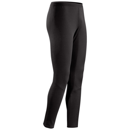 For lightweight insulation and moisture management on stop-and-go days, suit up in the Arc'teryx Phase AR Bottom. Encapsulated silver-ions repel odors, and moisture-wicking engineering allows this bottom to keep you dry even if you find yourself wet from snow or spring rain. - $32.48