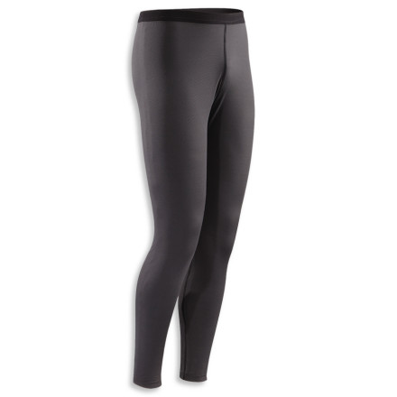 Layer up with the Arc'teryx Phase SL Bottoms and enjoy comfort and warmth during extended aerobic activity. Built to manage moisture, the Phase SL Bottoms feature hydrophobic materials for quick-drying performance. Flatlocked seams ensure comfort, while an antimicrobial treatment fights odor. - $29.98