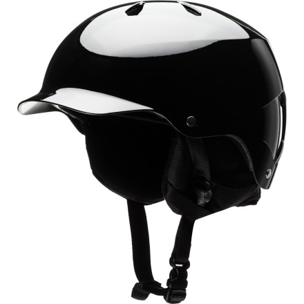 Ski The Bern Watts EPS Visor Helmet w/Knit Liner protects your melon in summer or winter, thanks to the removable knit liner. Bern set the standard for style in 2006 with its original visor helmet. the Watts takes the style to the next level with vents that let air flow through to cool your dome. - $49.98