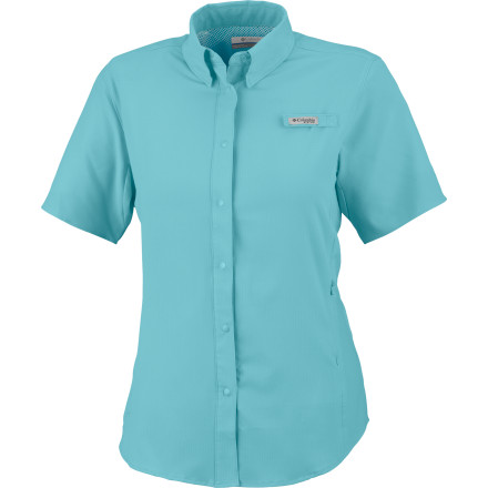 Fitness We don't need to tell you that a day on or near the water can be uncomfortable. Hot sun, humid air, and little shade are what you have to deal with, so trust the Columbia Women's Tamiami II Shirt to help you keep your cool. - $29.96