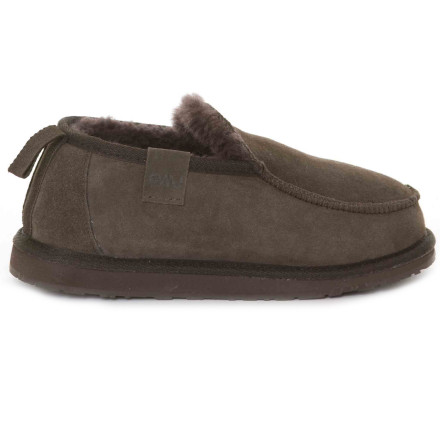 Entertainment When the temperatures dip, forget chilly feet and slide into the comfy EMU Mens Bubba Slipper. Aussies know their slippers. - $67.11