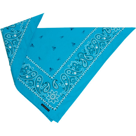 ExOfficio created the Bugsaway Paisley Bandana for those of us who attract mosquitoes like sharks to a life raft. A odorless insect repellent safely repels insects that fly and bite, and does so for about 30 washes. Tie this bandana around your head for a walk in the woods and enjoy the wilderness without having to swat your head every couple of minutes. - $14.95