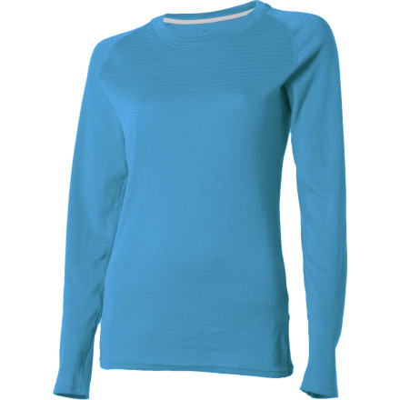 ExOfficio ExO Dri Lattice Crew - Long-Sleeve - Women's - $26.97