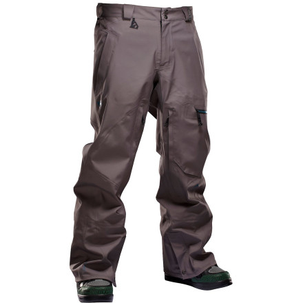Snowboard Be prepared for anything with the Homeschool Transmission Snowboard Pant. Continuum fabric blocks out wind and water while still allowing moisture to escape so you stay dry and warm on intense hikes and long pow runs, so you can get after it whether it's a bluebird day or a stormy one. - $247.96