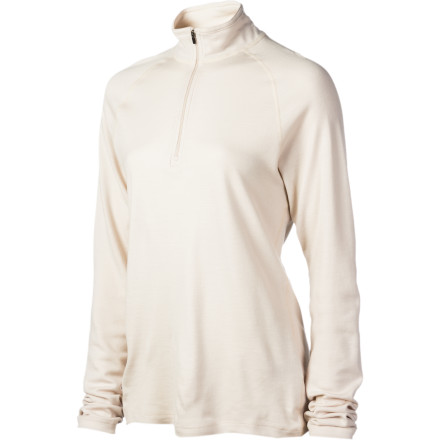 Fitness You can wear the Ibex Women's Zepher Zip T-Neck Long Underwear Top straight from the backcountry to the bar. This wool piece will absorb moisture and then release it into the air when you hike up that backcountry ridge and locks in heat on the way down. Flatlock seams ensure you stay chafe-free. Open the quarter-length zipper after you finish and plant yourself on a bar stool for a well-deserved lager. - $54.98
