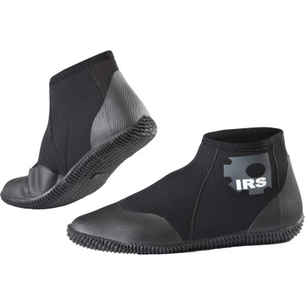Kayak and Canoe Keep your feet from turning into frozen ice blocks with the Immersion Research Neoprene Booties. The 3mm neoprene provides ample insulation while the burly molded sole gives you a secure grip and protection from sharp debris. - $35.95