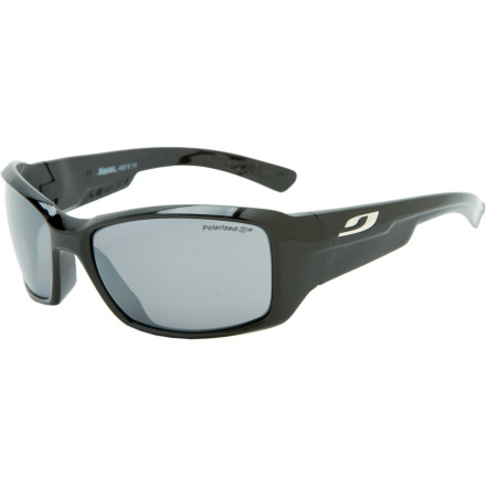 Entertainment Be ready for dramatic light changes as you blast along singletrack on knobby tires or your own two feet with the Photochromatic lens-equipped Julbo Whoops Sunglasses. These performance shades are made for smaller faces and feature a thinner arm end than at the hinge to fit comfortably under a helmet or hat. - $109.95