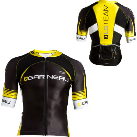 Fitness Was your jersey designed using wind-tunnel testing' The Louis Garneau Men's Corsa Jersey incorporates multiple fabrics in different zones designed to make the Corsa more aerodynamic. - $79.98