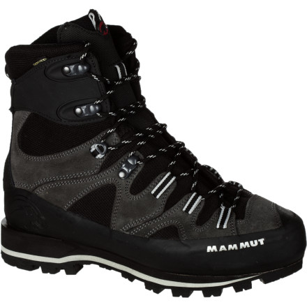 Climbing Mammut's Monolith GTX Boot welcomes the approach, the descent, and every punishing step in between. This versatile adventure footwear weathers surprise squalls on class IV granite scrambles, and welcomes the challenge of vertical ice. Don't overspecialize with multiple expensive pairs of boots when you can use one go-to pair of workhorse alpine boots geared for high adventure. - $239.16