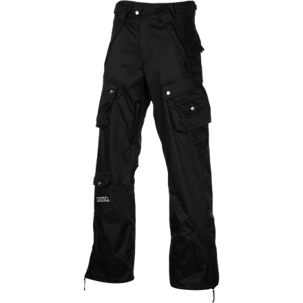 Snowboard The relaxed, happy-go-lucky fit of the Nikita Women's Prindle Pant makes it a popular choice for fun-loving riders. Ride-specific features, reliable protection from the weather, and a bazillion (well, almost) pockets let you get down and dirty on the slopes. - $75.58