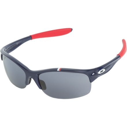 Entertainment The world-class female athletes of Team USA depend on the Oakley Commit SQ Sunglasses for their lightweight, customizable optical precision and secure fit that stays put no matter how rigorous the activity.Lightweight, flexible O Matter for durability and all-day comfort Unobtanium nose pad and ear socks get tacky when wet for a secure, slip-free fit Hydrophobic/oleophobic anti-smudge lens coating keeps your field of view clear Interchangeable lenses optimize light transmission for any conditions 8.75-base Plutonite lens blocks 100% of UV rays, offers wide peripheral vision, and exceeds ANSI impact testing standards Women's optimized Three Point Fit holds the lenses in precise alignment for distortion-free vision See size chart for lens info - $160.00