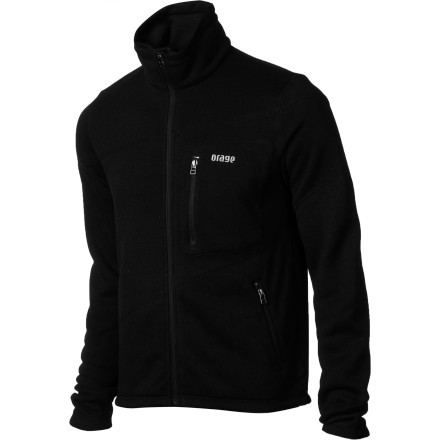 Whether you zip it up before heading to class or layer it beneath a shell on a powder day, the Orage Men's Amery Jacket is a solid choice for performance, style, and comfort. The performance fit is articulated for total freedom of movement and zippered chest pocket keeps valuables securely stowed. - $65.97