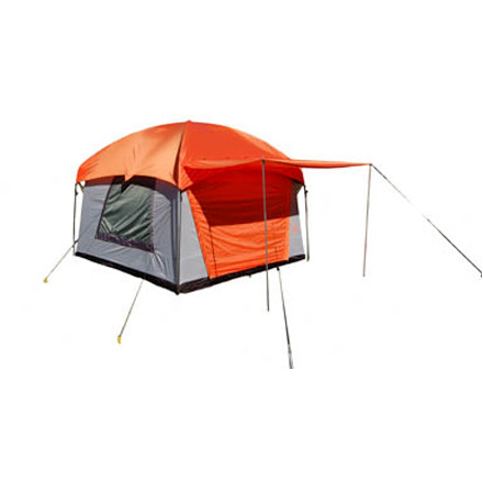 Camp and Hike Just because you are camping, it doesnt mean you need to feel like you are sleeping in a cave. The Paha Que Pamo Valley 6-Person 3-Season Tent gives you 92in of vertical space, so you will have plenty of headroom (unless youre, like, a giant or something). - $568.95