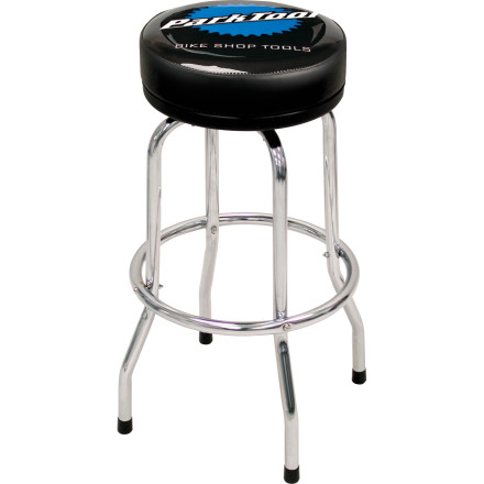 MTB Standing's lame, so plant your rear on the Park Tool Shop Stool. Not only are you now comfortable seated and no longer bending over to work on your bicycle, you can roll around the shop instead of walking. How cool is that' - $94.95
