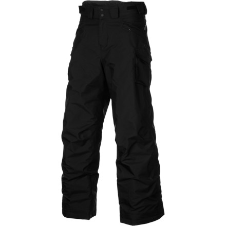 Ski Your young skier stud will love the waterproof breathable Patagonia Boys Go-Snow Pants so much, he wont want to give them up when he grows an inch. Luckily, Patagonias Grow-fit feature means he wont have to. - $89.40