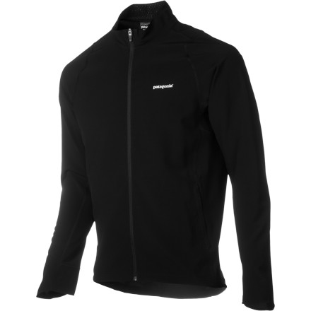 Fitness The Men's Traverse Softshell Jacket is the lightest softshell Patagonia makes, made from durable recycled polyester-spandex blend, and breathable for comfort when you're pushing your limits. Plus it has Deluge DWR finish that repels water, so you can get your light, strong, and fast self outside even when the rain clouds blow in. - $129.00