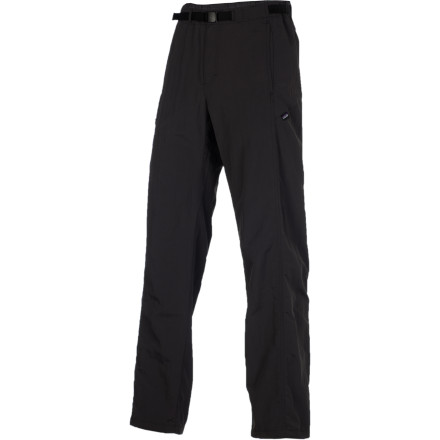 Climbing The Patagonia Men's GI III Pant is an ideal choice for summer backpacking excursions or a day of clipping bolts at the local sport crag. The durable nylon fabric protects your legs on overgrown sections of trail and dries quickly after brushing up against dew-soaked foliage. - $69.00