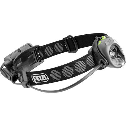 Climbing The Petzl MYO XP Headlamp uses one super-bright LED bulb with three lighting levels and boost mode for amazing versatility. Boost mode provides 50% increased lighting for 20 seconds to help you get down the sketchy descent, make rappels, and find your way back to the trailhead in the dark. The MYO XP works great for multi-day backpacking or climbing trips, and thanks to a low 6.2oz weight, it makes the cut for just-in-case lighting on a day trip. This Petzl headlamp burns up to 180 hours on economy mode and includes a low-battery indicator and a reminder to switch to economy power. - $60.17