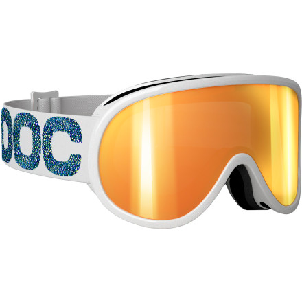 Snowboard For a performance goggle built to satisfy the needs of one of the fastest women to ever step onto a pair of skis, look no further than the POC Women's Julia Mancuso Signature Retina Goggle. The optical-grade lens is tinted to boost contrast and cut glare while the anti-scratch and anti-fog treatment work to maintain crystal clear vision. - $94.47