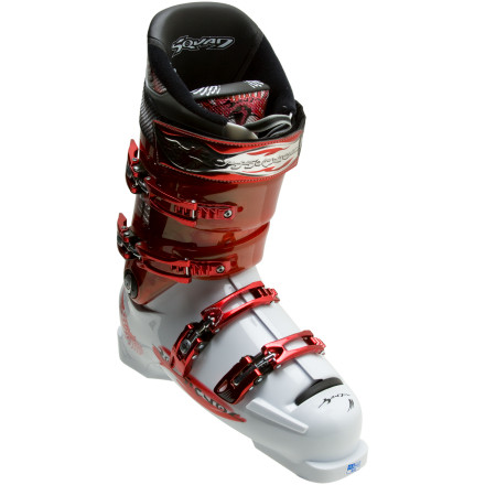 Ski When big lines beckon, step up your game with the 115-flex Rossignol Men's Bandit B-Squad Composite Ski Boot. With a performance fit 98mm fore foot last, these freeride boots hug your foot closely for precise power transmission and feel. Composite reinforcements throughout the shell and cuff add strength where you need it, without adding weight. Rossignol added a layer of shock-absorbing Visco material to take the pins and needles out of big drop and fast lines. The Bandit B-Squad Composite Ski Boot's Pro Fit performance liner fight back the freeze on those chilly days, and holds your foot firmly in place, eliminating heel slop and cold toes. - $274.98