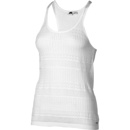 Surf Spruce up your cas look with the Roxy Women's Road To Sun Tank Top. This fine-knit sweater tank pairs well with skinny jeans or a pencil skirt. - $27.65