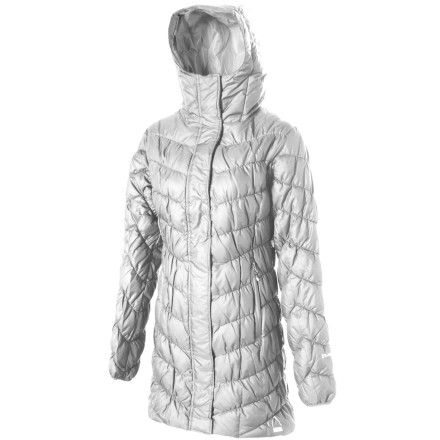 The Sierra Designs Women's Long Flex Jacket shells out burly protection from the cold so you'll be snug as a bug whether you're braving brutal winter temps or hanging out in your grocer's freezer section. - $147.92