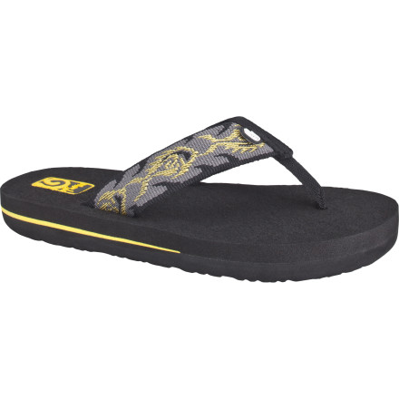 Surf After your third straight evening picking splinters out of your adventurous kid's feet, maybe it's time to invest in a pair of the Teva Boys' Mush II Sandals. - $14.41