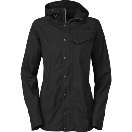 Fitness Walking in the rain is romantic, but it's also wet. The North Face Women's Socializer LT Jacket keeps the wet stuff off so you can enjoy the rain without getting soaked. This lightweight jacket uses high-tech HyVent to keep you dry without making you feel like you're drowning in your own sweat. - $97.46
