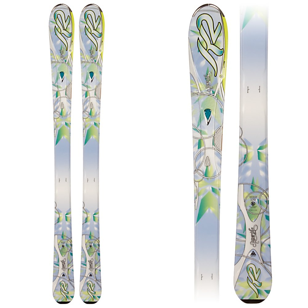 Ski K2 Superific Womens Skis - The new SuperIfic is a solid intermediate ski for women of all ages and replaces the best selling K2 True Luv. Engineered to be 10-20% lighter the SuperIfic can take on the whole mountain without making your legs burn. A 76mm waist, and K2's All Terrain Rocker (rocker in the tip with slight tail rocker) gives you good flotation, and quicker turn initiation. Tip rocker also deflects some of the negative energy from crud that can collect on the groomers. The Bioflex 1 core is 60% aspen wood, and 40% paulownia keeps the ski lightweight and forgiving. The MOD Monic dampener on the shovel of the ski absorbs the vibrations brought on by you picking up speed and making short to medium radius turns down the blues and blacks. The Mod technology suspension system absorbs vibrations, and impact along the entire edge of the ski, giving you more power, and control without affecting the flex of the ski. The new SuperIfic will be a great ski for the solid intermediate women of all ages. . Tip/Waist/Tail Widths: 120/76/104mm (@ 160cm), Actual Turn Radius @ Specified Length: 14m (@ 160cm), Warranty: One Year, Construction Type: Cap, Core Material: Wood, Base Material: Sintered, Tail Profile: Flared, Special Features: All Terrain Rocker, Special Features: Bioflex 1 Core (Aspen/Paulownia/Bamboo), Rocker: Tip Rocker/Camber, Race: No, Twin Tip: No, Alpine Touring: No, Used: No, Titanium: No, Turn Radius: 11-15, Waist Width: 76-85mm, Skill Range: Intermediate - Advanced, Model Year: 2012, Product - $229.99