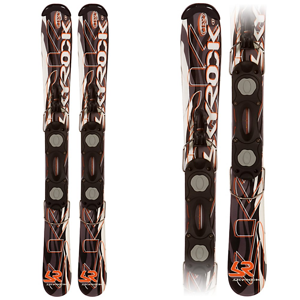 Ski Sky Rock 99 Line Ski Boards - The Sky Rock 99 Line Ski Boards will give you an awesome new way to experience all the mountain has to offer. These ski boards are just like a full length ski but smaller so you can maneuver around easier and try out some new things. These ski blades will go wherever you want to ski whether you feel like riding on the groomed trails or moguls or if you want to have a little fun in the park and pipe. The wood core design will give you the stability you desire and stellar edge grip. Riding the Sky Rock 99 Line Ski Boards will be a cool and fun new experience out on the slopes. . Type: Snowblades, Snowblades: Yes, Ski Gear Intended Use: All Mountain, Skill Range: Beginner - Advanced Intermediate, Product ID: 304070 - $99.95