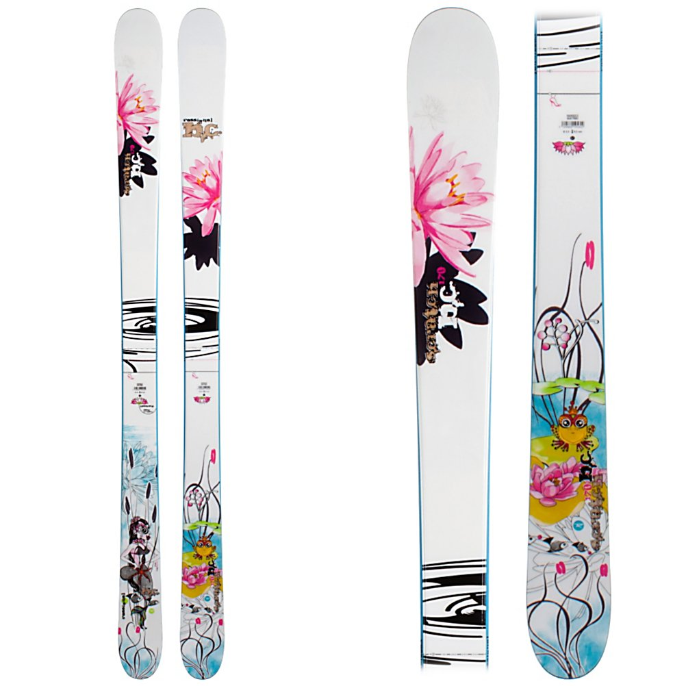 Ski Rossignol Scratch Girl BC Womens Skis - The Scratch Girls BC is versatile ski for women that want a great park ski, or an all mountain stick in parts of the world that do not receive a lot of snow. 90mm underfoot provide an ample landing platform for sticking all of the spins and jibs in the park. 30 degree slanted sidewalls give good edge hold and reduced weight for flying up the walls of a fast and icy pipe or laying down carves on the front side. Three different mounting positions give her choices as to how centered she wants the BC to ski. Rossignol's F.I.T (feminine intuitive technology) give the Girls BC a womens specific feel to her. The Girls BC makes a perfect ski for a progressive Midwest all mountain ski, a girl back east or a sub 300 inch resort, and a park stick for the jibber girl that can hang with the fellas. . Tip/Waist/Tail Widths: 120/90/113, Actual Turn Radius @ Specified Length: 16.4m (@ 160cm), Warranty: One Year, Construction Type: Sidewall, Core Material: Wood, Base Material: Sintered, Tail Profile: Twin, Special Features: Three mounting positions, Special Features: F.I.T. System, Rocker: Camber, Used: No, Titanium: No, Turn Radius: 16-20, Skill Range: Advanced Intermediate - Expert, Model Year: 2009, Product ID: 225724, Shipping Restriction: This item is not available for shipment outside of the United States., Waist Width: 86-95mm, Alpine Touring: No, Twin Tip: Yes, Race: No, Binding Weight Range: None, Binding DIN: None, Bindings Included: No, What Binding is Included?: None, Gender: Wome - $119.95