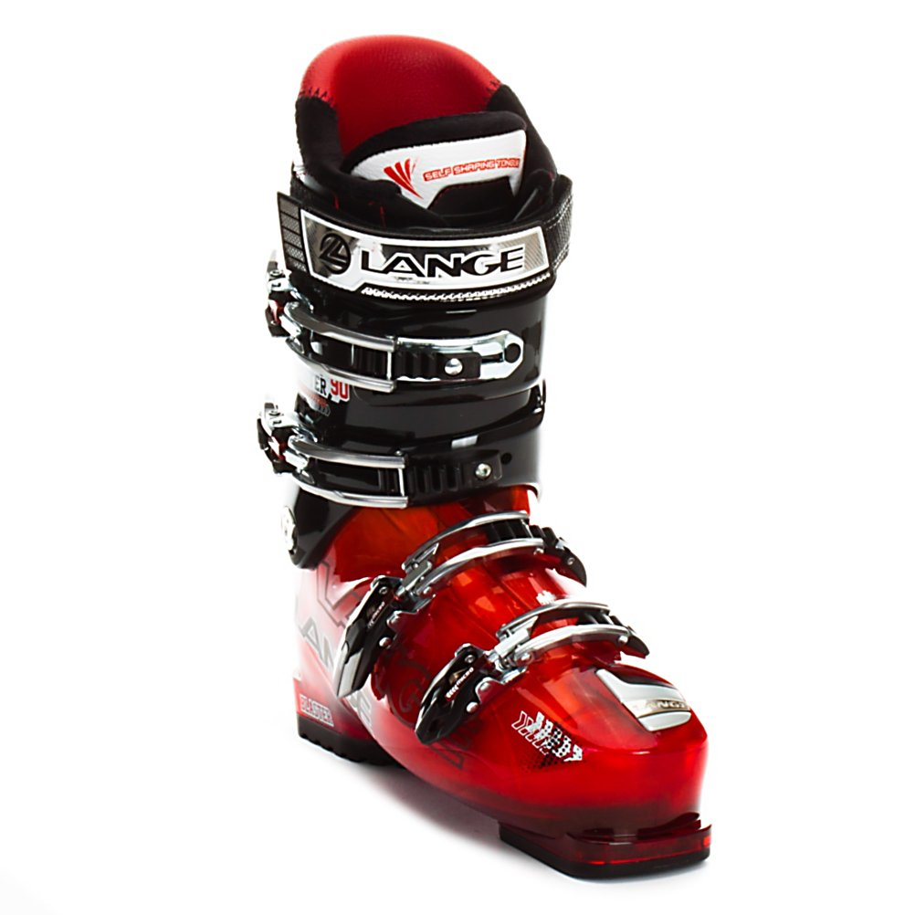 Ski Lange Blaster 90 Ski Boots - The Blaster 90 is the perfect boot for intermediate to casual advanced skiers who like to explore more than what marked and groomed trails have to offer. With a 102mm forefoot the Blaster 90 has a relaxed fit that remains responsive due to the strong Lange heel pocket. With a 90 flex to compliment the fit the Blaster 90 offers solid performance while keeping an air of forgiveness about it keeping the blend of performance and comfort. Sticking with the Neutral Stance geometry also helps the Blaster 90 with it's smooth performance nature. By keeping you in an upright stance it allows for great balance and good rebound energy which reduces fatigue and feels very stable, especially when in choppy or bumpy off trail terrain. For the internals the Blaster 90 uses a Control Fit liner with a medium dense foam for efficient energy transmission and a slightly cushioned fit to keep you feet warm and happy throughout a whole day of skiing. The final touches on the Blaster 90 are four microadjustable buckles, a powerstrap, and cuff alignment so you can make the minor adjustments necessary for the best possible fit. Features: Four Microadjustable Aluminum Buckles, Single Cuff Alignment, Powerstrap. Actual Flex: 90, Cuff Alignment: Single, Warranty: One Year, Gender: Mens, Special Features: Natural Stance, Ski Boot Width: Medium (100-103mm), Special Features: Control Fit Liner, Bearing Grade: Performance, Flex: Medium, Race: No, Used: No, Ski/Walk: No, Prewired For Heat: No, Number of Micro - $199.93