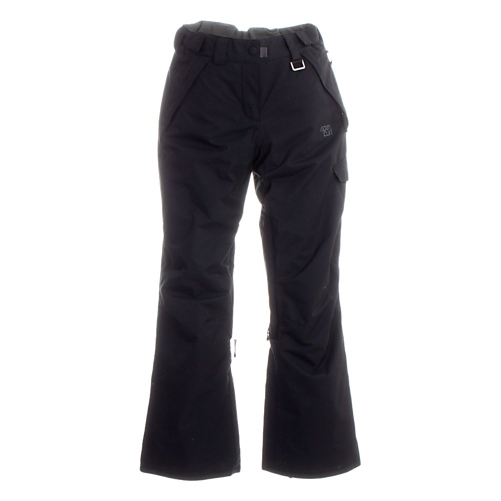 Snowboard Rip Curl Into The Groove Womens Snowboard Pants - Rip Curl has designed this pair of Into The Groove Snowboarding Pants specifically for women, you will be amazed at the length of time that you can spend outdoors while wearing this all out mountain pair of pants for this coming snowboard season. You will be put Into The Groove with the warmth, durability and style as you shred the fresh powder. The polyester and polyamide combined materials will provide you with the protection that is needed from the wind, the falling flakes and the many falls if you are a beginner boarder. The zippers have been waterproofed as well as the seams to keep the moisture away from your core, protecting you from any moisture reaching your skin. The lining material is 210 T and the ventilation system with mesh lining are waterproof and will help to trap and keep your body heat so you stay warmer all day long. Protection never looked better then with the Rip Curl Into the Groove Womens Snowboard Pants. Features: Made from 80% Polyamid, 20% Polyester , DWR (Durable Water Repellent) coated, Ventilation System with Mesh Lining, 1 Cargo Pocket, Pant Connector, Leg Gaitor. Exterior Material: Polyamide, Polyester, Softshell: No, Insulation Weight: N/A, Taped Seams: Critically Taped, Waterproof Rating: 5,000mm, Breathability Rating: 5,000g, Full Zip Sides: No, Thigh Zip Venting: Yes, Suspenders: None, Articulated Knee: No, Low Rise: No, Warranty: One Year, Race: No, Waterproof: Moderately Waterproof (5000mm-19,999mm), Breathability: Moderate Breathability - $49.94