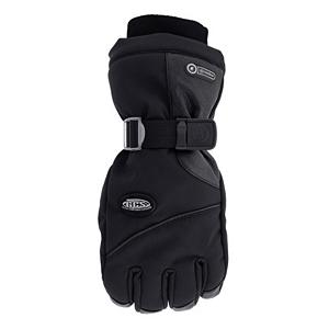 Ski Grandoe Primo Elite Womens Gloves - The Grandoe Primo Elite Womens Ski gloves have been updated and improved for the 2011/2012 season with a full Velocity Soft-Shell construction and a new streamlined design. The Primo Elite features Grandoe's exclusive, integrated zip-in zip-out liner system to lock in warmth and lock out cold and moisture. Depending on the weather conditions you can keep your hands toasty, toasty warm by keeping the liner in on those cold, chilly days. If it is a tad warm take the liner out so that you remain comfortable. Insulated with Thinsulate for additional warmth, and the Primo Elite also has six warmth trapping layers to shield your hands from the cold. . Removable Liner: Yes, Material: Velocity Soft-Shell and Deer Tanned Leather, Warranty: One Year, Battery Heated: No, Race: No, Type: Glove, Use: Ski/Snowboard, Wristguards: No, Outer Material: Softshell, Waterproof: Yes, Breathable: Yes, Pipe Glove: No, Cuff Style: Over the cuff, Down Filled: No, Touch Screen Capable: No, Model Year: 2012, Product ID: 245645 - $49.98
