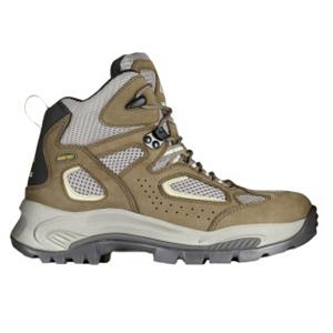 Camp and Hike Vasque Breeze GTX Womens Hiking Boots - Looking for a high-quality, warm, comfortable and stylish boot that you can wear hiking in the middle of winter? Look no further than the Vasque Breeze GTX Winter Hiking Boots. It boasts a women's specific fit meaning the boot was created for the support and comfort that a woman's foot needs different from a man's foot. There's a narrower heel pocket, additional support in the instep and higher arches. These boots are warm and breathable which means you won't spend the day with sweaty feet but rather cozy toes. The Breeze GTX Boots are made with Gore-Tex technology which has a long track record of keeping you warm and dry through its waterproof and breathable membrane. Winter time means icy and snowy surfaces so when you're hiking or travelling around town, the Vibram soles will offer stability and traction on those slick surfaces. Also helping you stay stable and steady over uneasy ground is the Arc Tempo Last which has an asymmetrical curve placing your foot in a more powerful position during toe off. And as for style, well the Vasque Breeze GTX Winter Hiking Boots offers a rugged yet fashionable front that will keep you looking good and staying warm. . Warranty: One Year, Waterproof: Yes, Material: Leather, Type: Boot, Insulated: No, Sole Material: Vibram contact, Model Year: 2012, Product ID: 263076 - $84.90