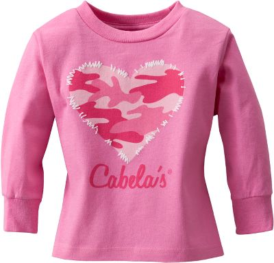 Cute, 100% cotton tee adorned with a heart and accent stitching. Machine wash, tumble dry low. Imported.Sizes: 2T, 3T, 4T.Color: Raspberry. - $9.88